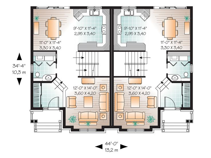 1st Floor Plan, 027M-0047