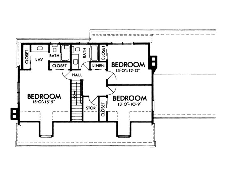 Cape cod 2nd floor plans thefloors co for Cape cod second floor addition