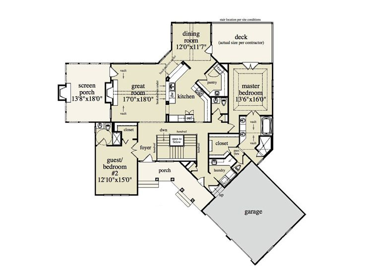 Plan 053h 0020 find unique house plans home plans and for Angled garage floor plans