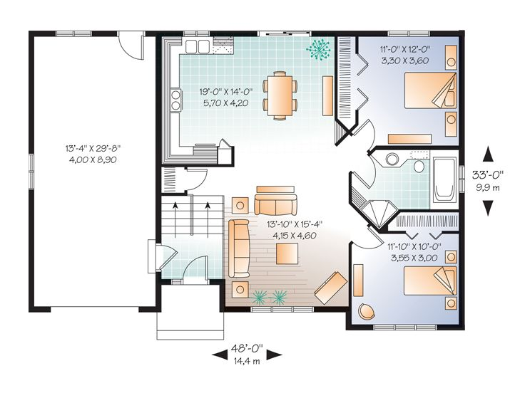 small home plans affordable split level house plan 027h split level house plans small house plans