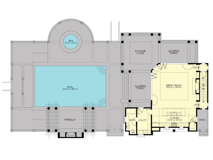 1st Floor Plan, 035G-0018
