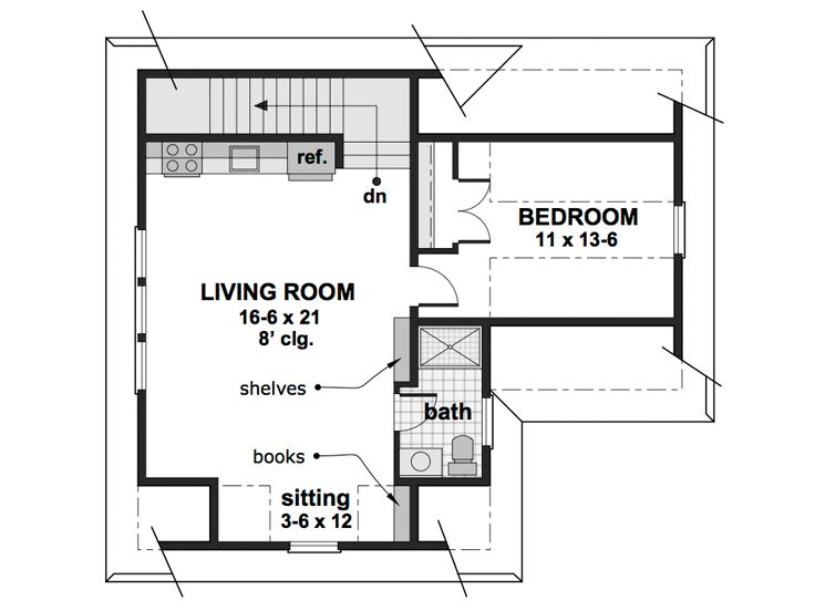 2nd Floor Plan, 023G-0003