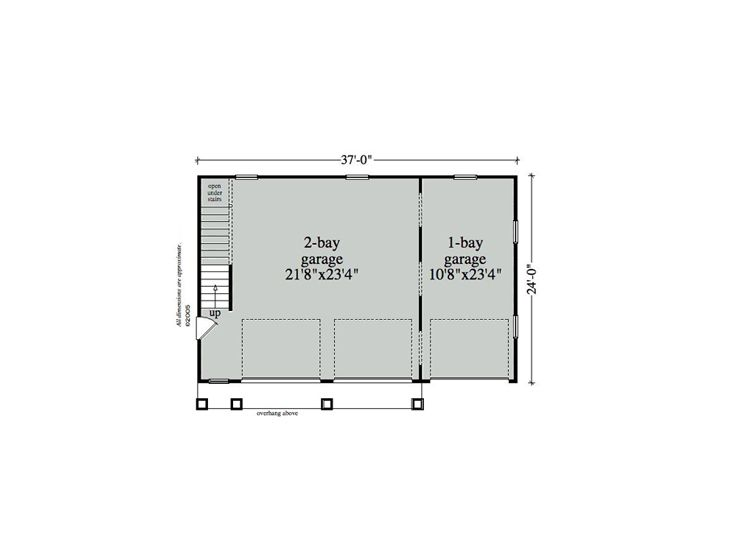 Garage 1st Floor Plan