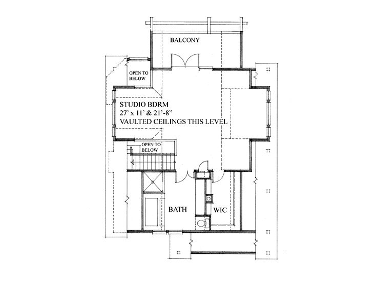 2nd Floor Plan, 010H-0013