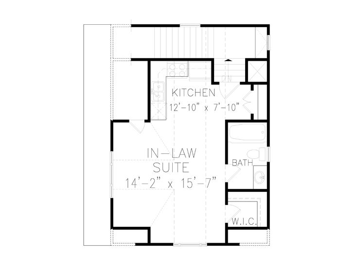 2nd Floor Plan, 084G-0016