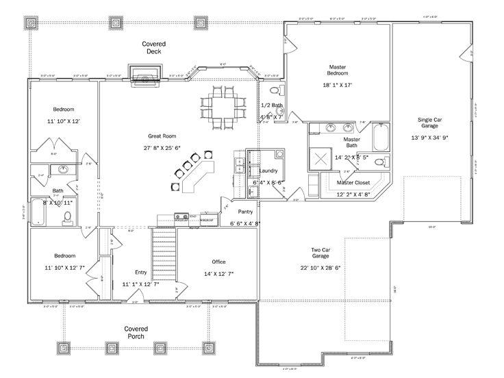 28 h 8211 floorplan 4651 sq 9m narrow block house for 9m narrow block house designs