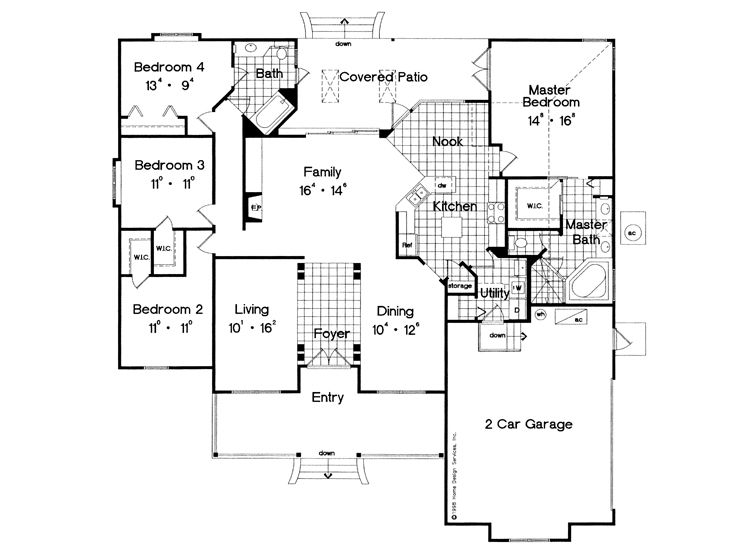 Plan 043H 0098 Find Unique House Plans Home Plans and Floor