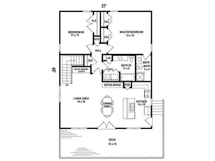 Garage Floor Storm Shelter Plans: Carriage House Plan For A Sloping