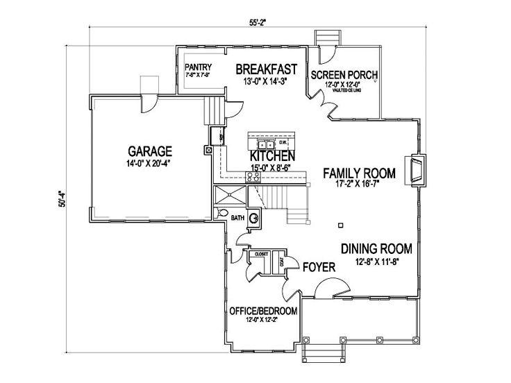 Unique House Plans Two Story Unique Home Plan 058h