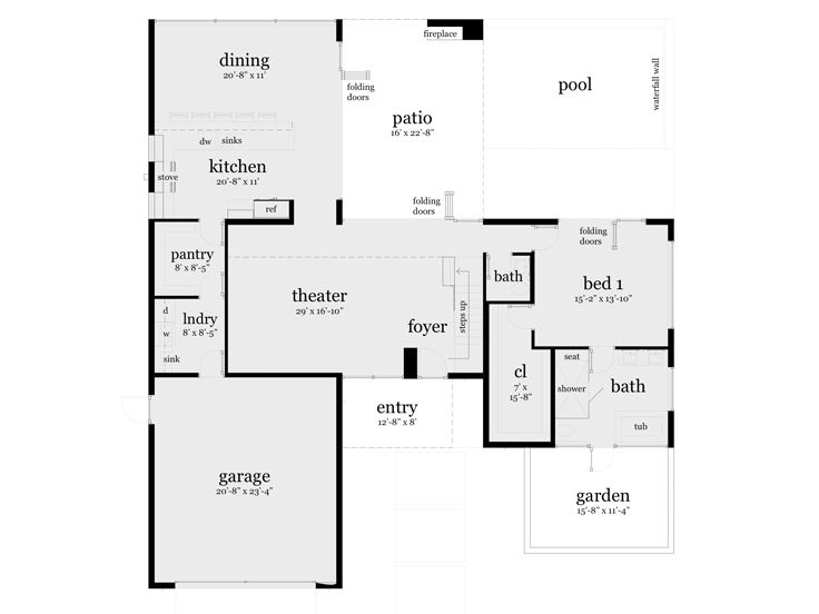 1st Floor Plan, 052H-0079