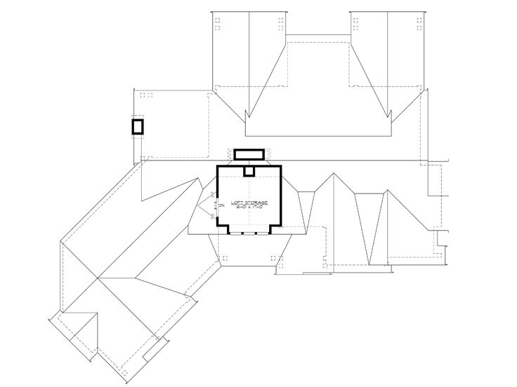2nd Floor Plan, 035H-0111