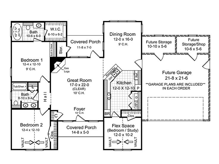 Affordable Home Plans One Story Affordable House Plan