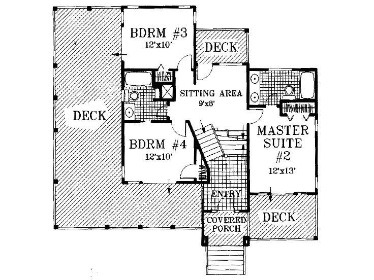 1st Floor Plan, 041H-0014