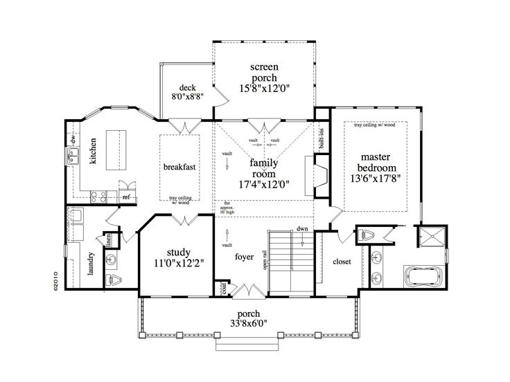 House plans for empty nesters empty nest house plan for Luxury empty nester house plans