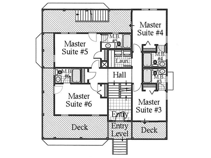 1st Floor Plan, 041H-0056