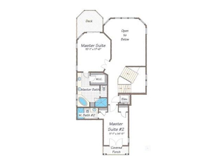 2nd Floor Plan, 041H-0135