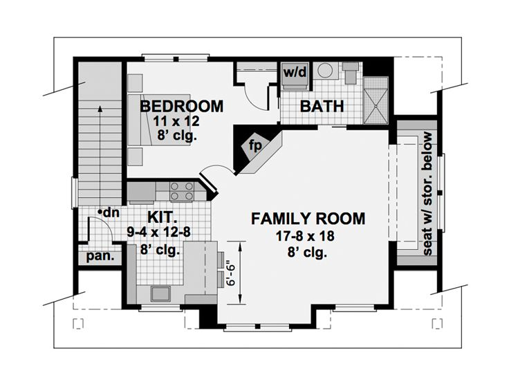 2nd Floor Plan, 023G-0002