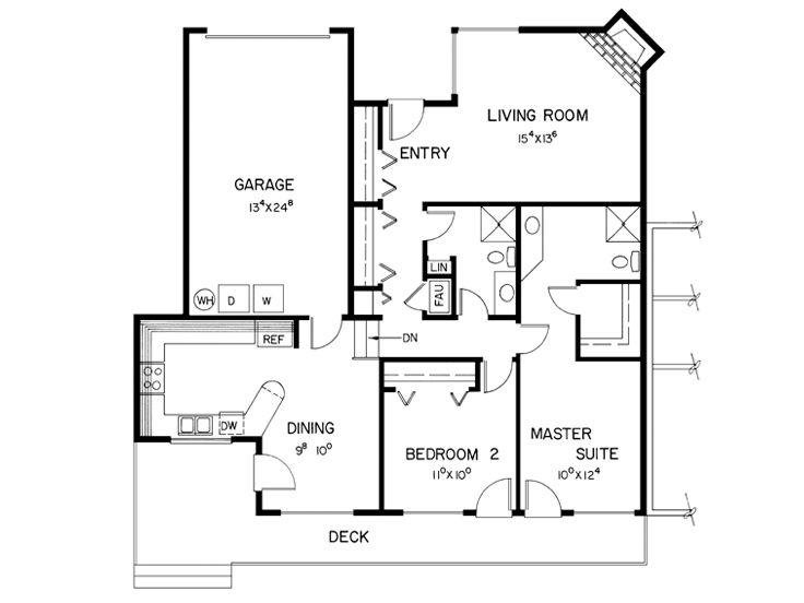 1st Floor Plan A