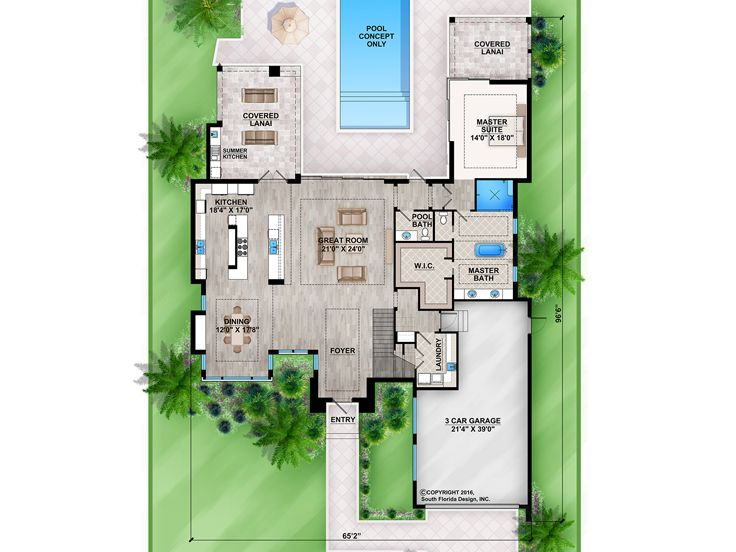 1st Floor Plan, 069H-0027
