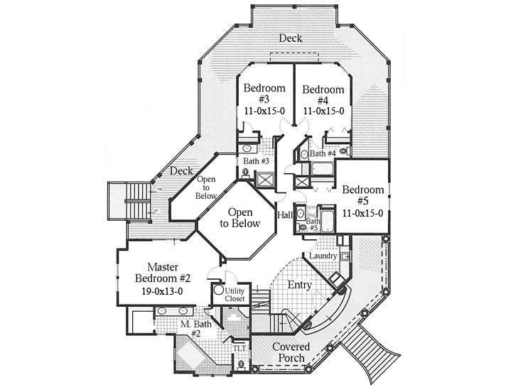 Plan 041h 0083 find unique house plans home plans and for Unusual home plans