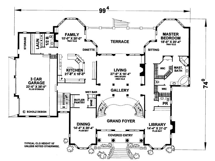 1st Floor Plan, 031H-0337