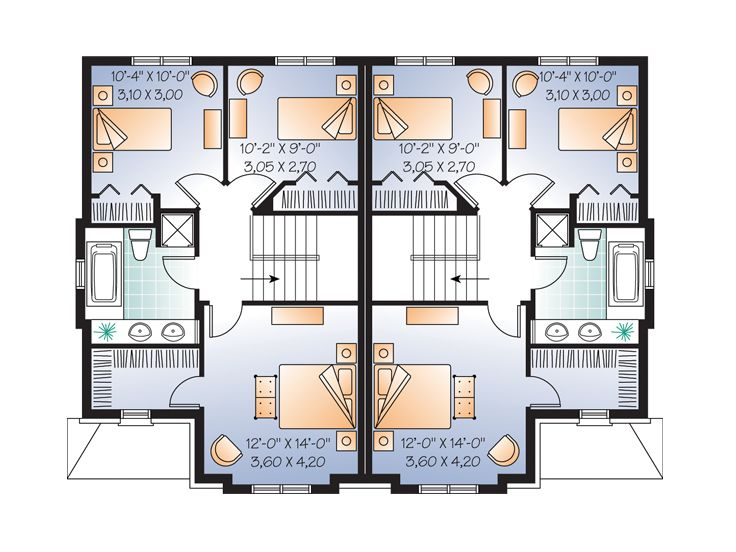 2nd Floor Plan, 027M-0047