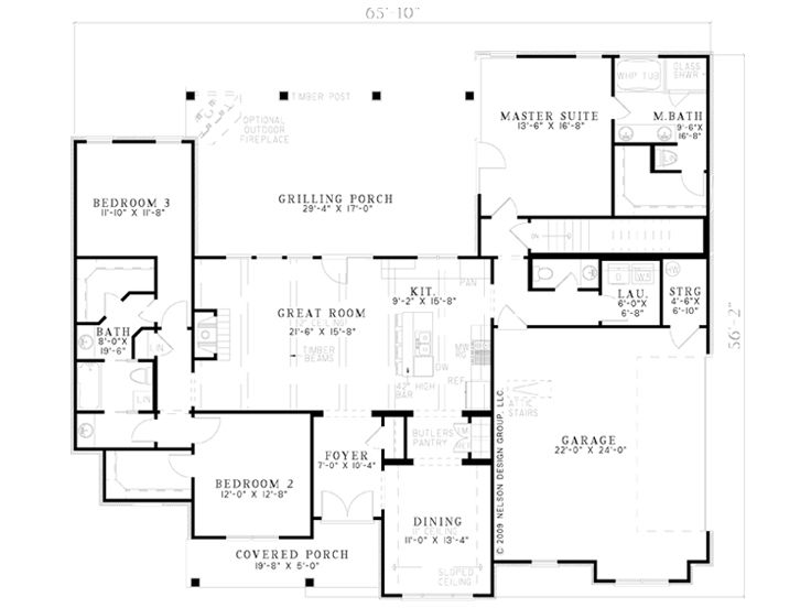 Opt Floor Plan, 025H-0232