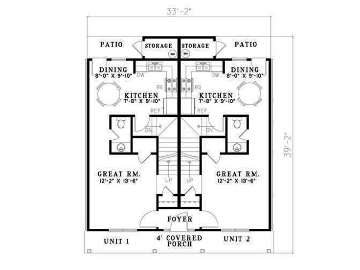 Opt. 1st Floor Plan, 025M-0045