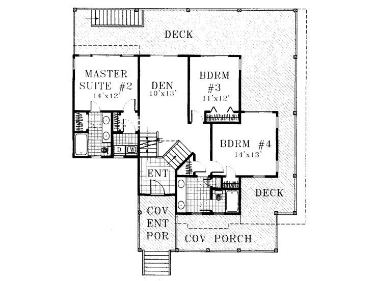 1st Floor Plan, 041H-0017