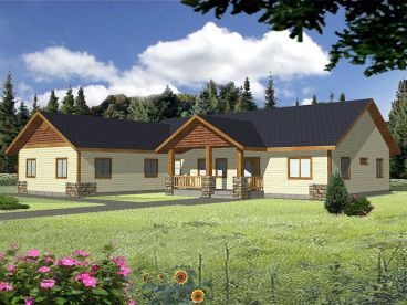 Family House Plan, 012H-0145