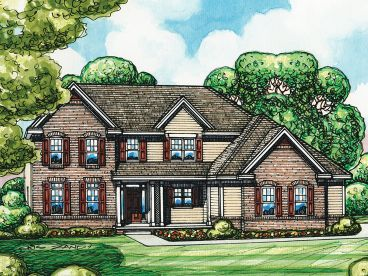 Family House Plan, 031H-0248