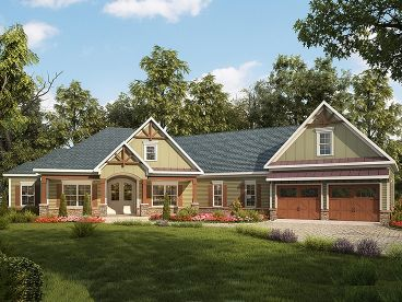 Craftsman Home Design, 019H-0162