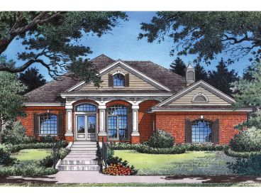 Ranch House Plan, 043H-0091