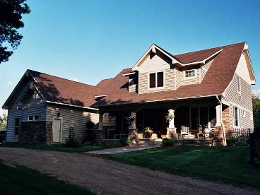 Country Craftsman Home, 023H-0123