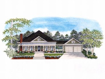 One-Story Home Plan, 019H-0093