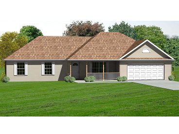 One-Story Home Design, 048H-0048