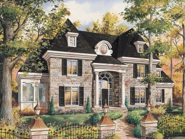 Two-Story House Plan, 072H-0229