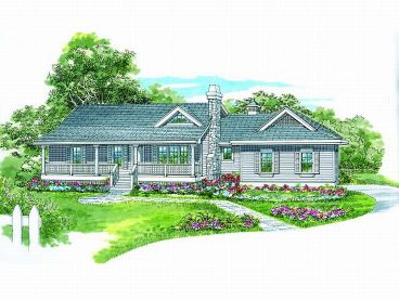 Country Ranch Home, 032H-0061