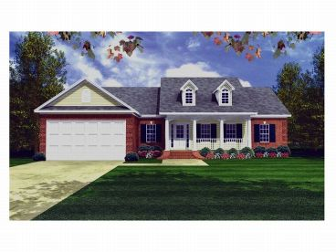 Country House Plan, 001H-0023
