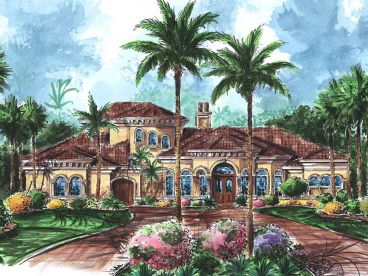 Mediterranean Home Plan, 037H-0046