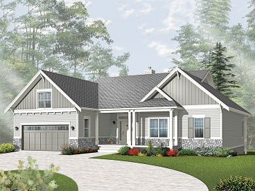 Family Home Plan, 027H-0251