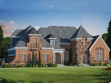 European House Plan, 031H-0273