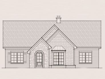 European House Plan, 061H-0050