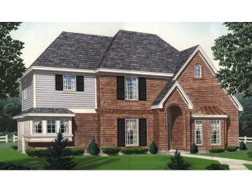Two-Story House Plan, 054H-0118