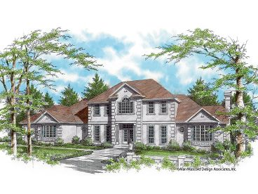 Luxury Home Plan, 034H-0129