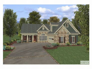 Craftsman Home Plan, 007H-0041
