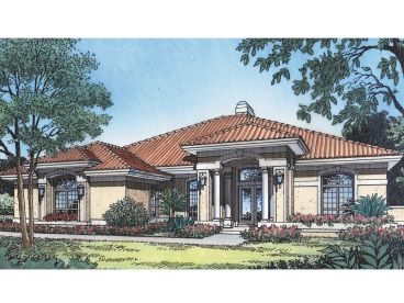 Ranch Home Plan, 043H-0159