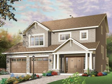 Family House Plan, 027H-0264
