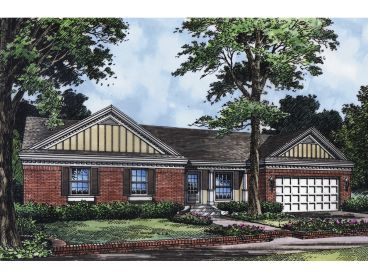 Traditional House Plan, 043H-0019