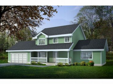 Country House Plan, 026H-0064